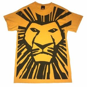 Vintage Style Lion King The Musical Disney T Shirt